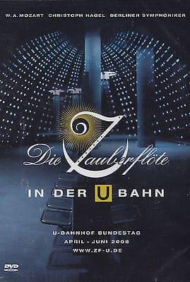 Jan Plewka Die Zauberflöte in der U-Bahn Berlin BVG Bahnhof