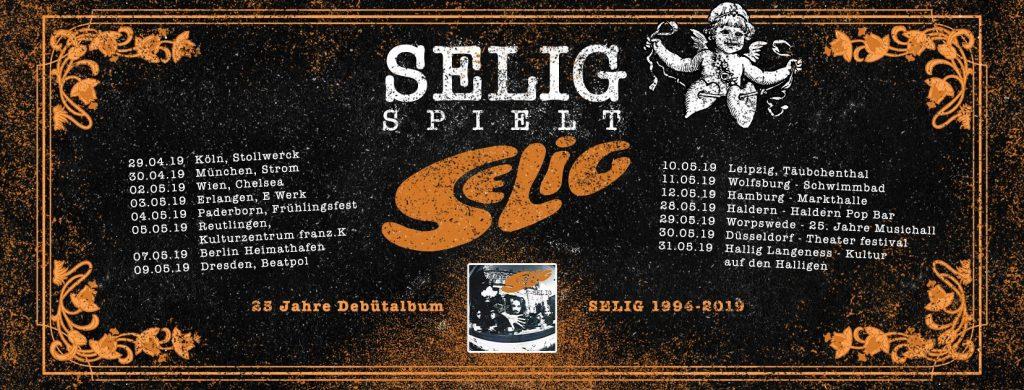 Selig – 25 Jahre Debüt Album Tour 2019